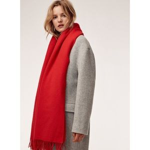NWT Wilfred Classic Wool Scarf (from Aritzia)